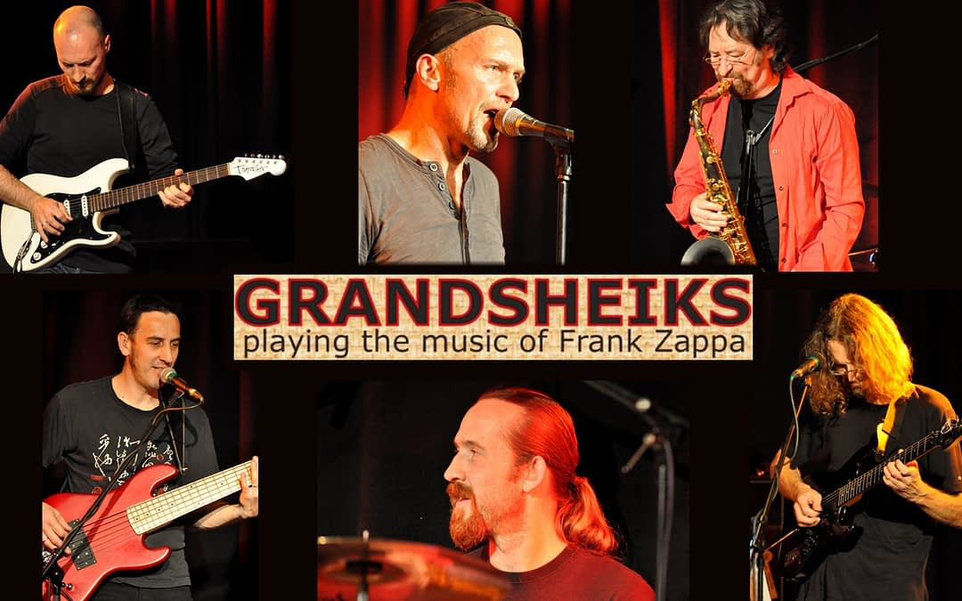 GRANDSHEIKS playing the music of FRANK ZAPPA – Midnightspecial am Bingen swingt Samstag!